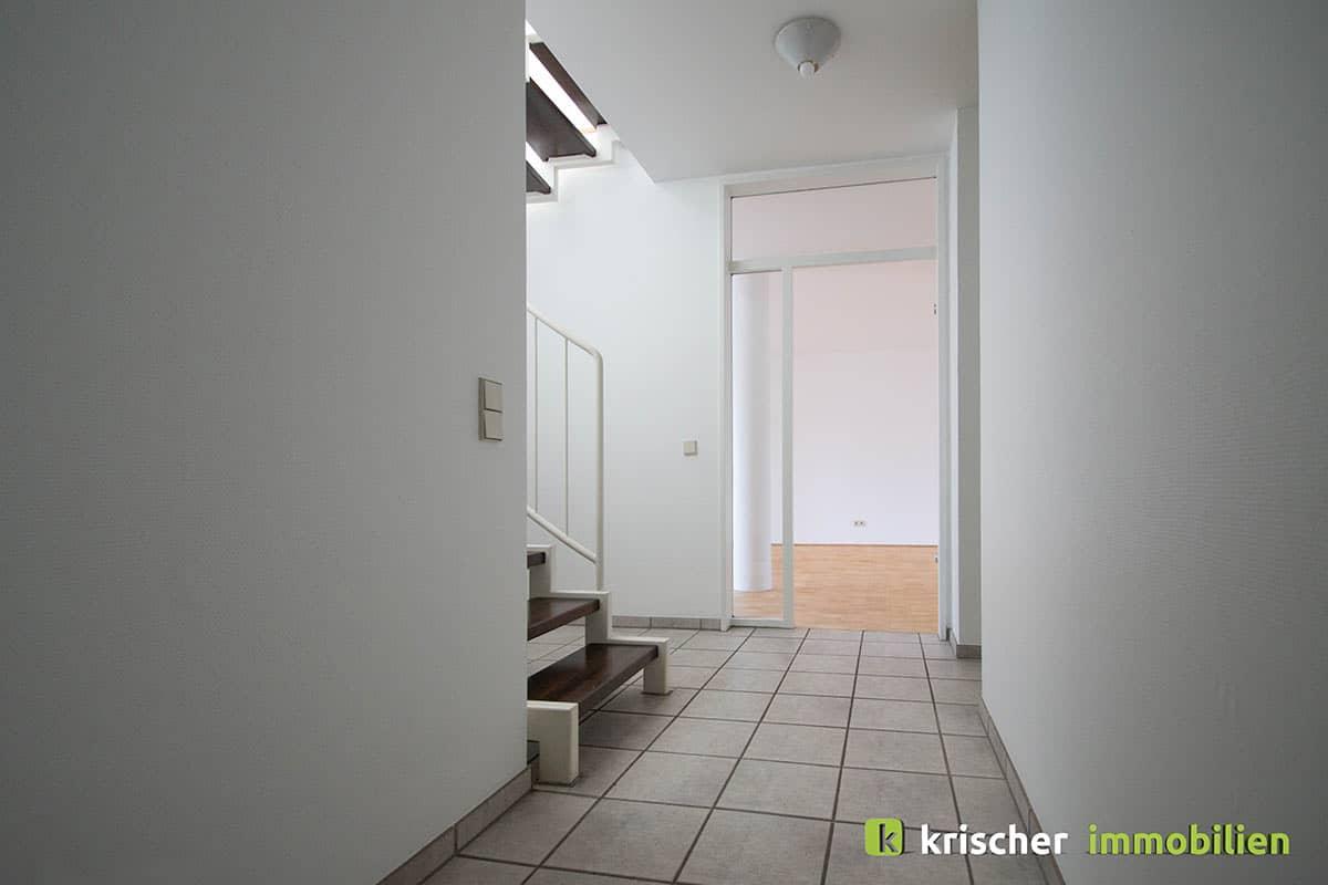 carlstadt_maisonette_diele Krischer Immobilien
